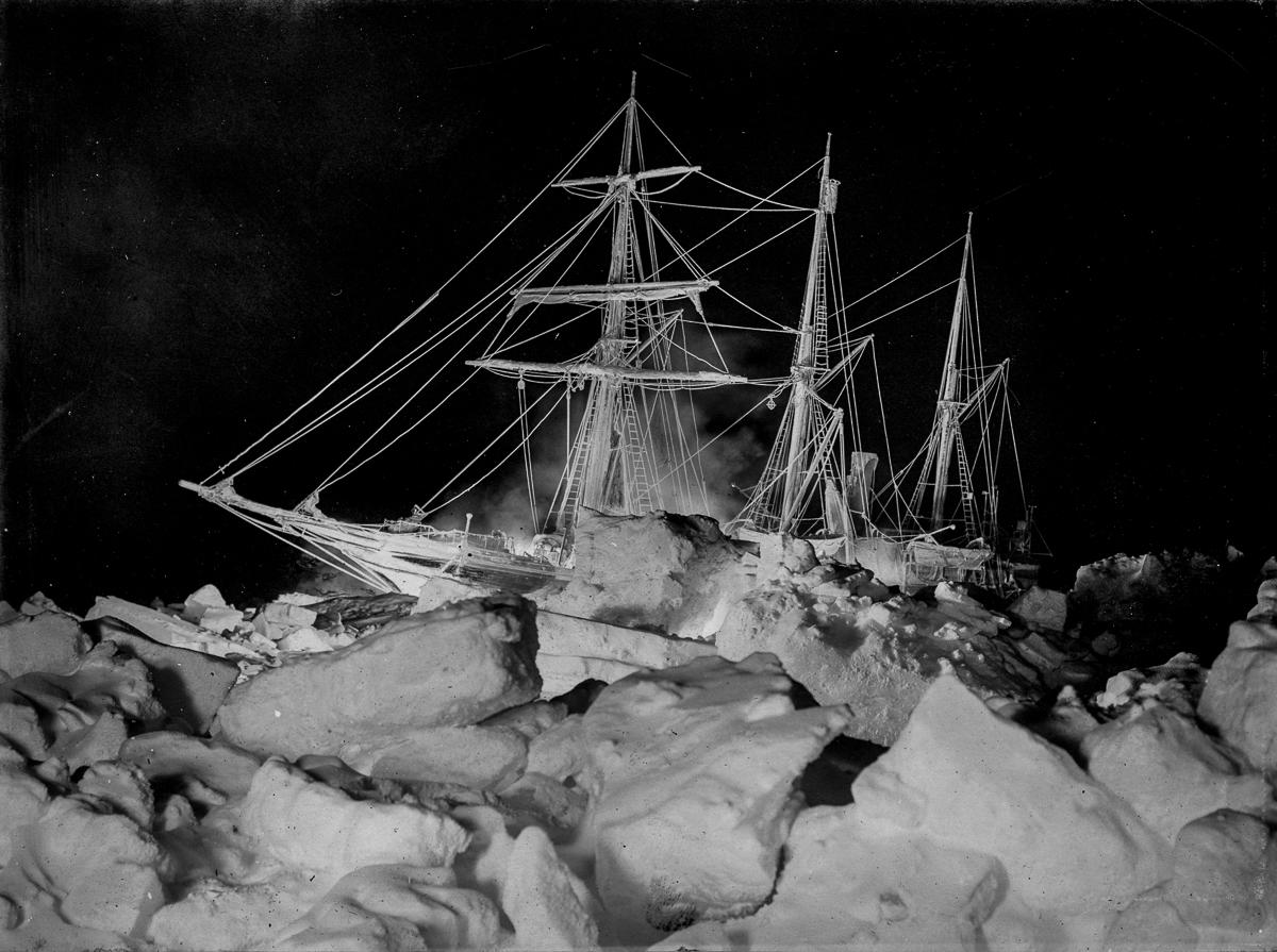 Fotografii Imperskoy transantarkticheskoy ekspeditsiey 28