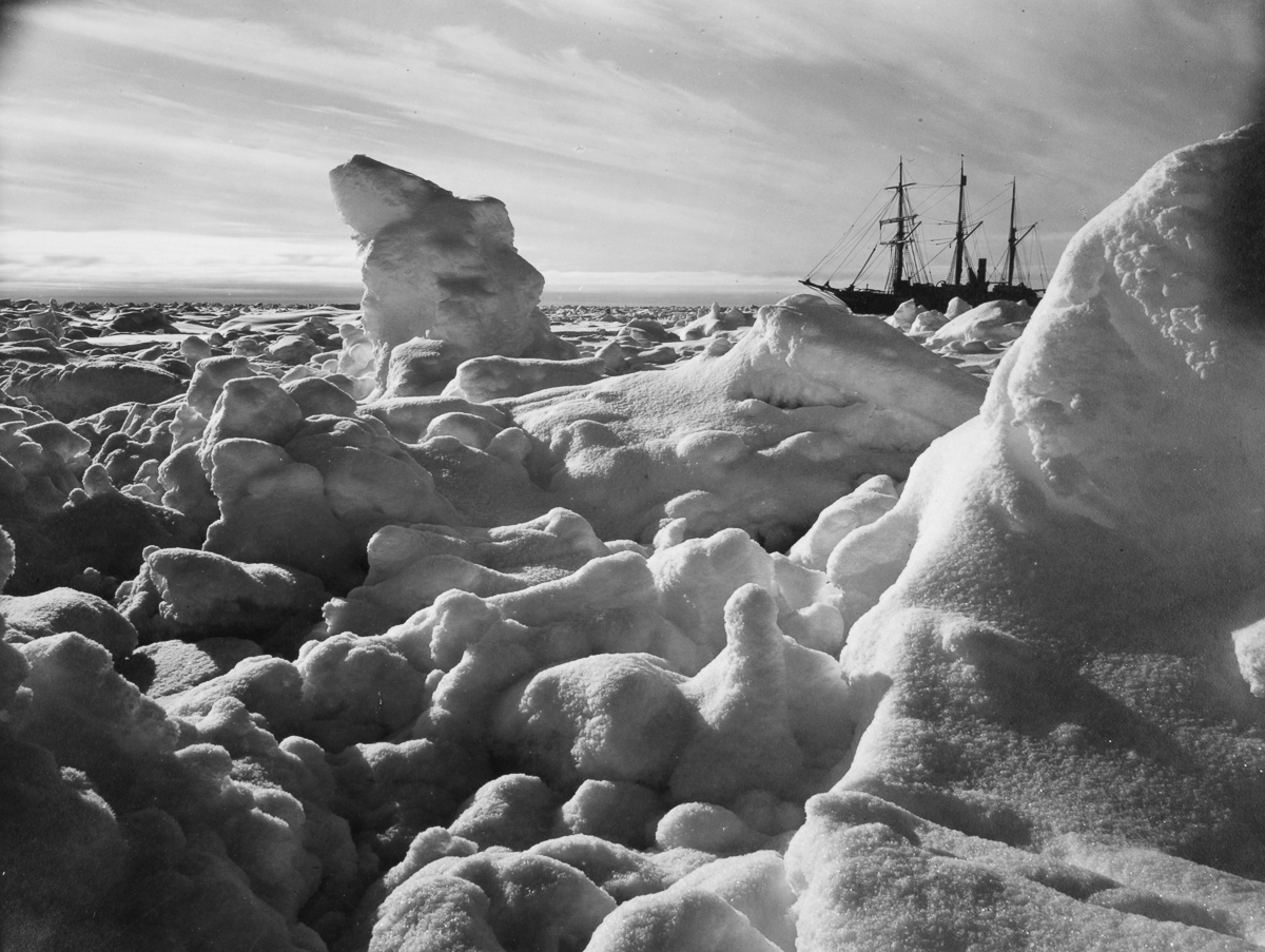 Fotografii Imperskoy transantarkticheskoy ekspeditsiey 35