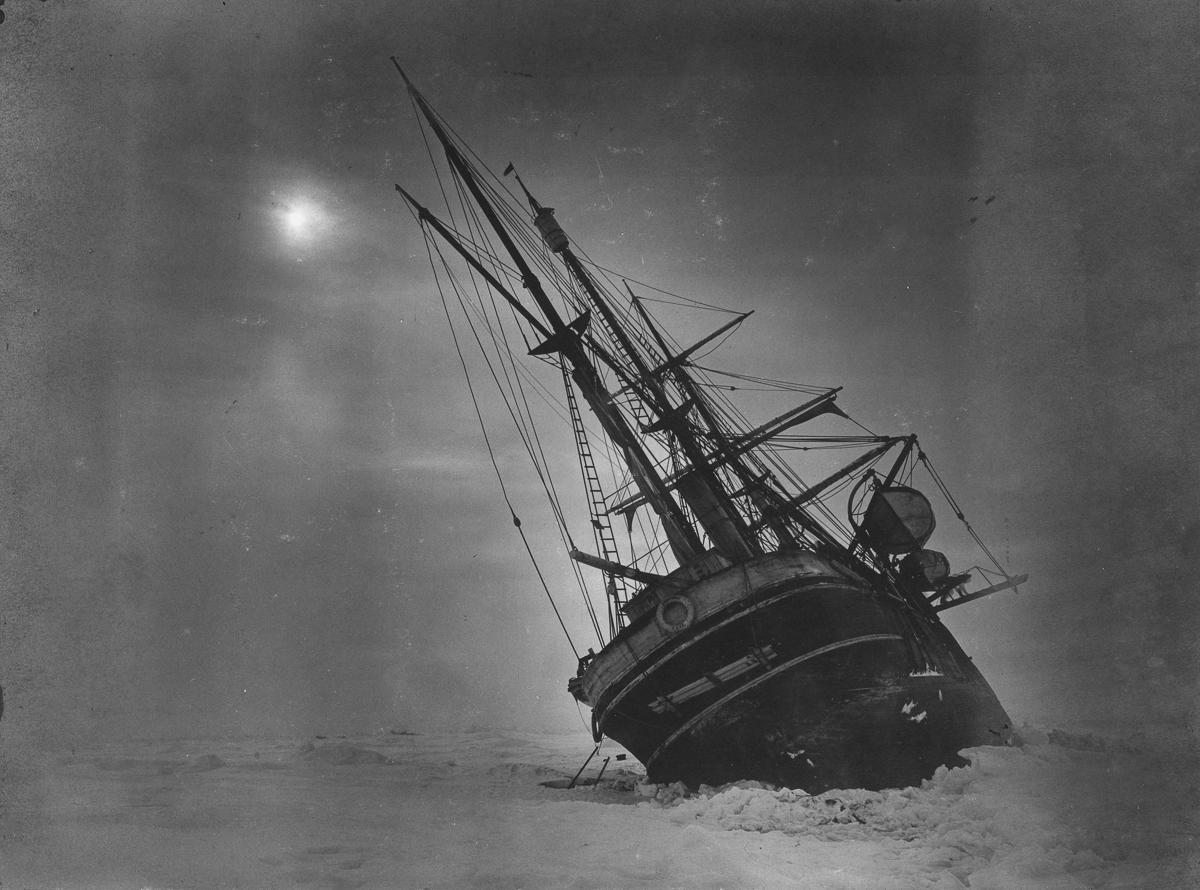 Fotografii Imperskoy transantarkticheskoy ekspeditsiey 40