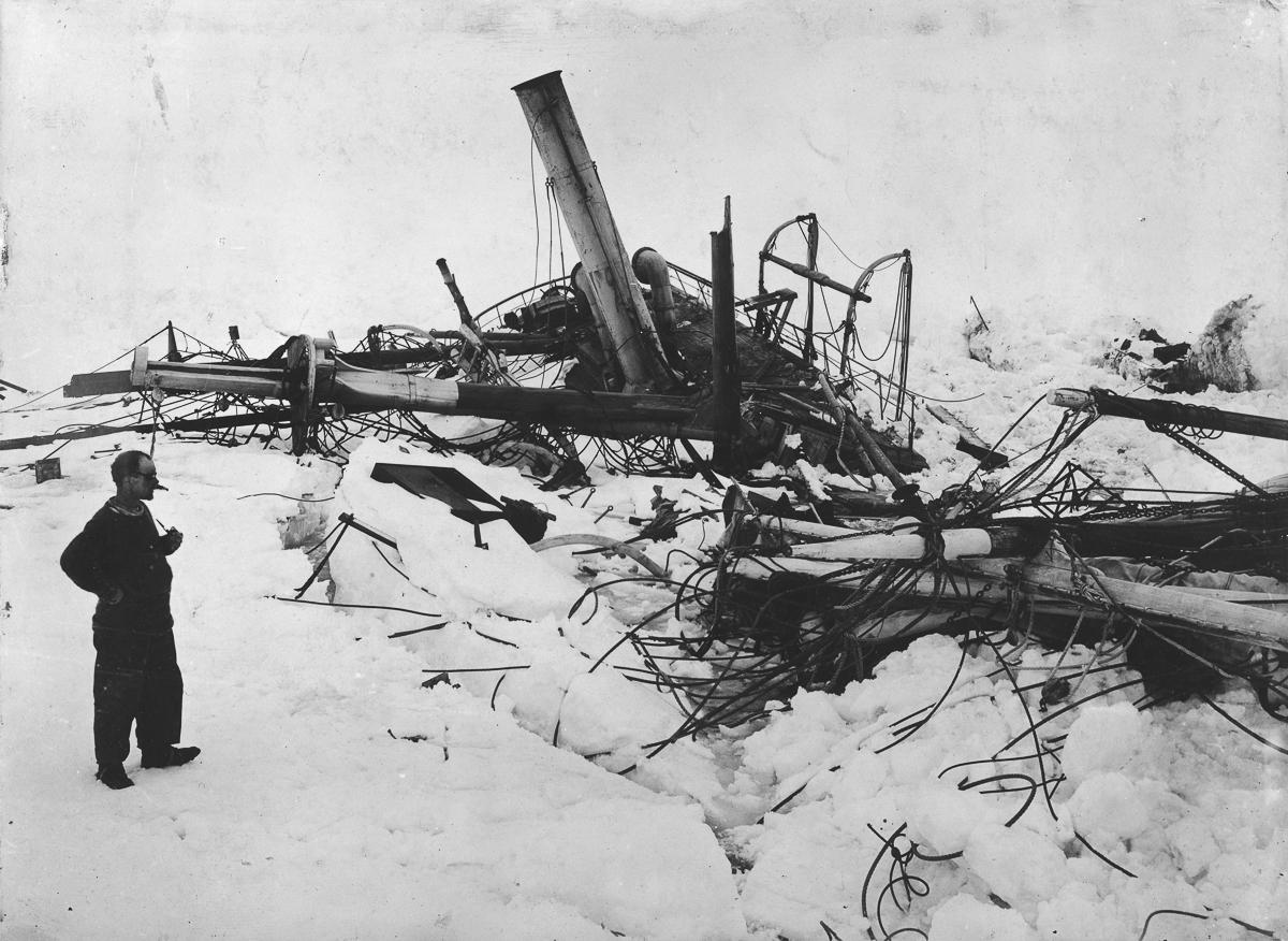 Fotografii Imperskoy transantarkticheskoy ekspeditsiey 43