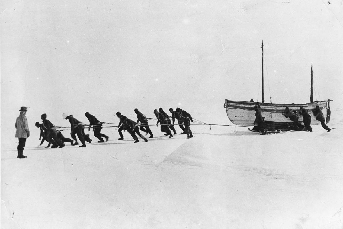Fotografii Imperskoy transantarkticheskoy ekspeditsiey 45