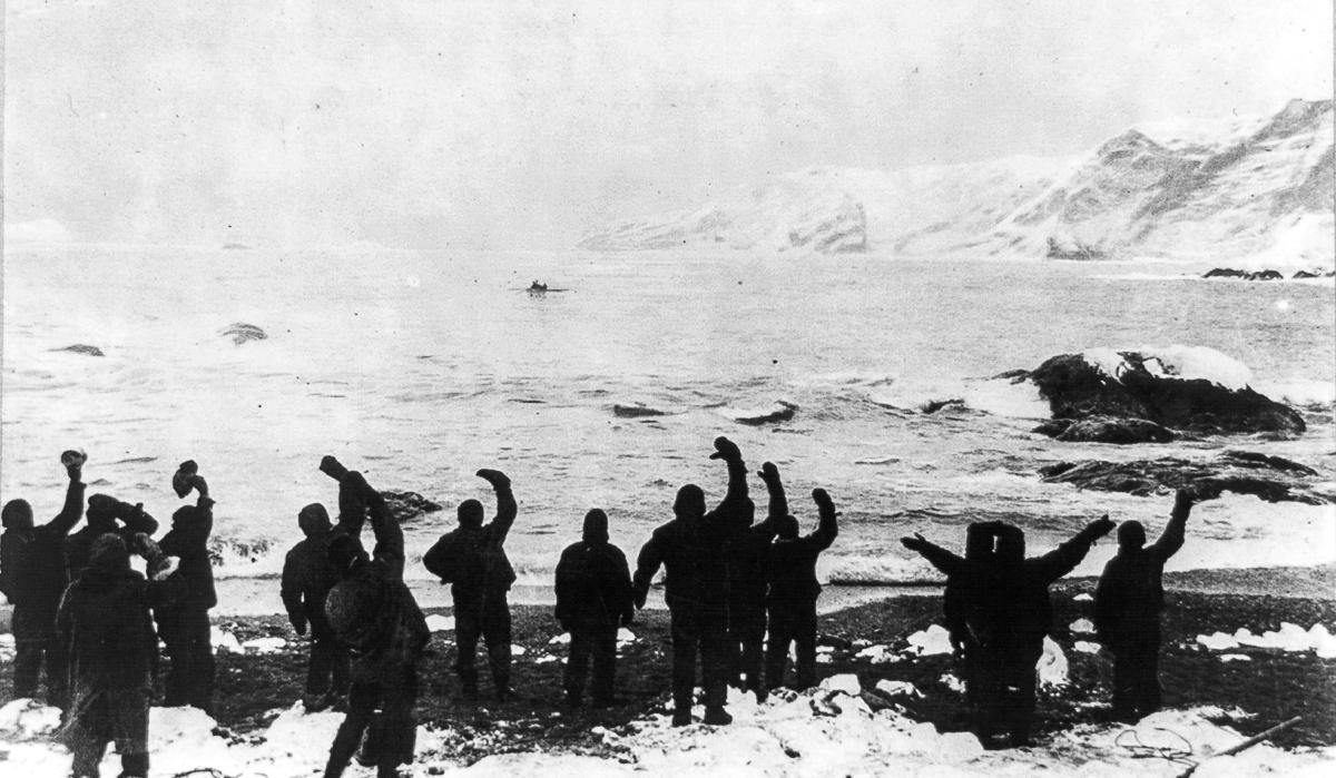 Fotografii Imperskoy transantarkticheskoy ekspeditsiey 48