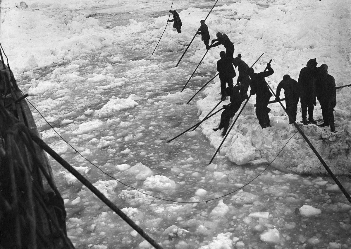 Fotografii Imperskoy transantarkticheskoy ekspeditsiey 6