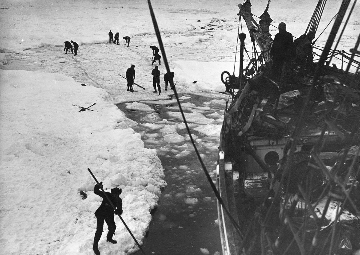 Fotografii Imperskoy transantarkticheskoy ekspeditsiey 8