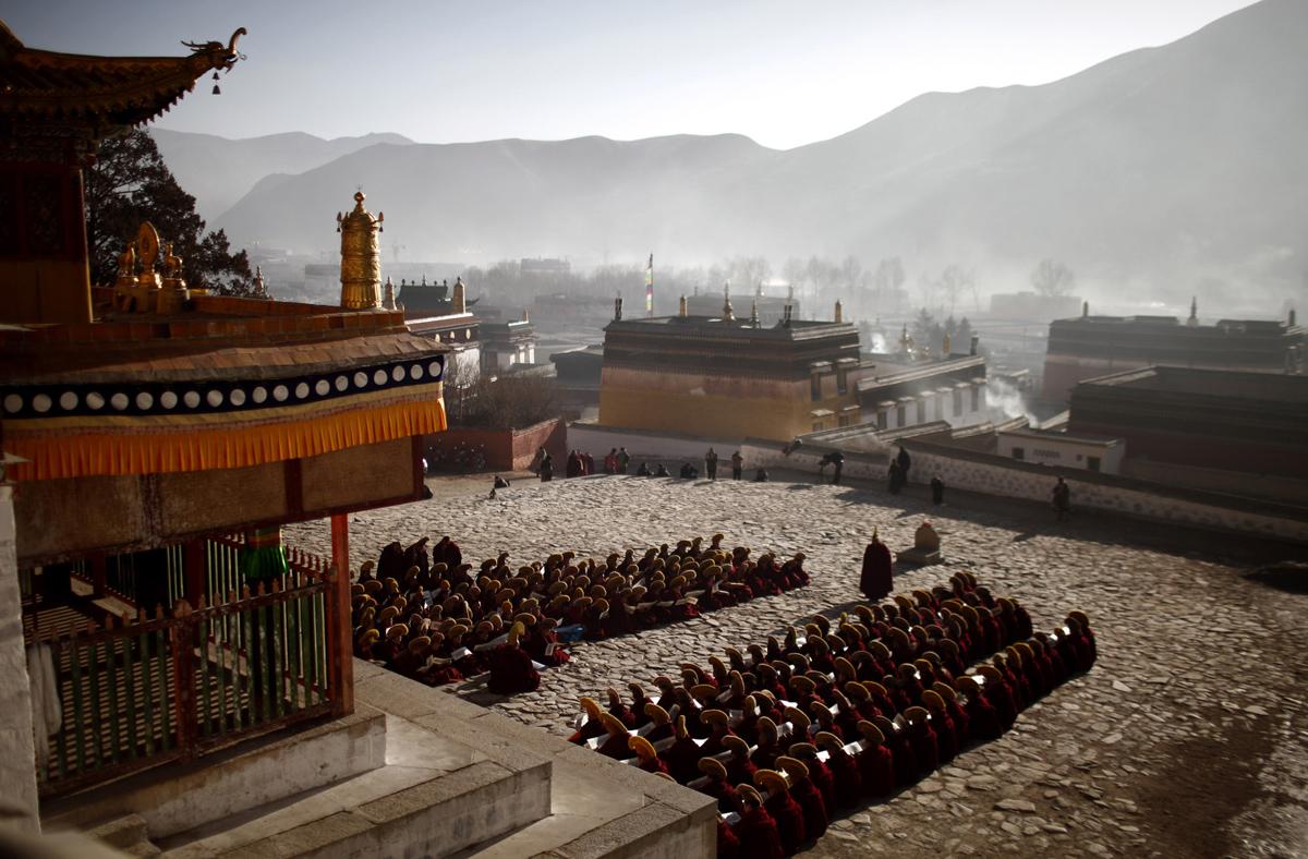Peyzazhnye fotografii Gansu Kitay 10