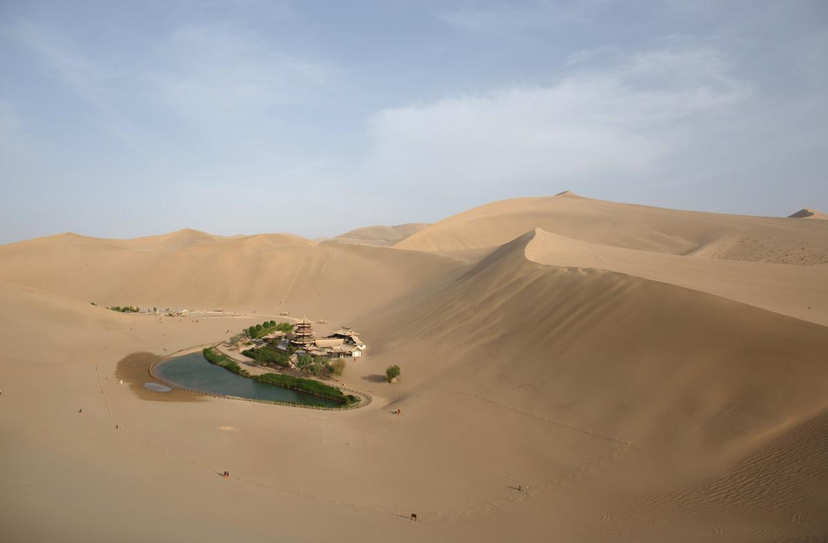 Peyzazhnye fotografii Gansu Kitay 17