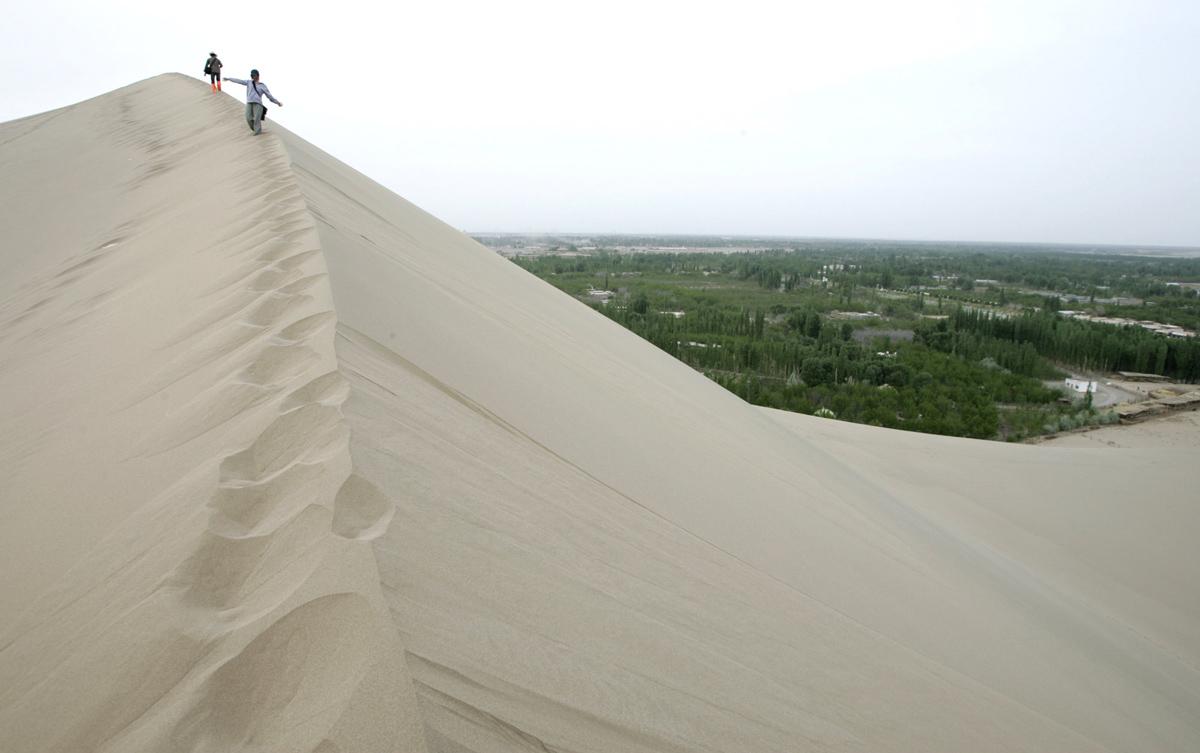 Peyzazhnye fotografii Gansu Kitay 18