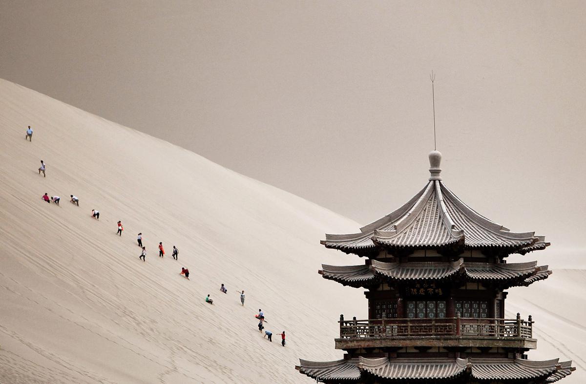 Peyzazhnye fotografii Gansu Kitay 2