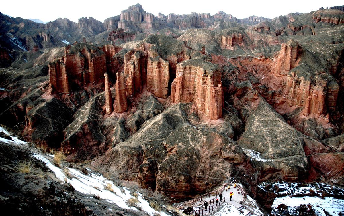 Peyzazhnye fotografii Gansu Kitay 23