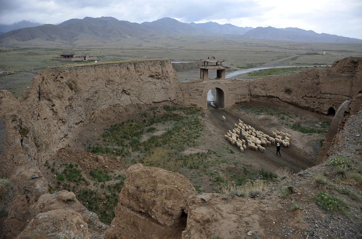 Peyzazhnye fotografii Gansu Kitay 25