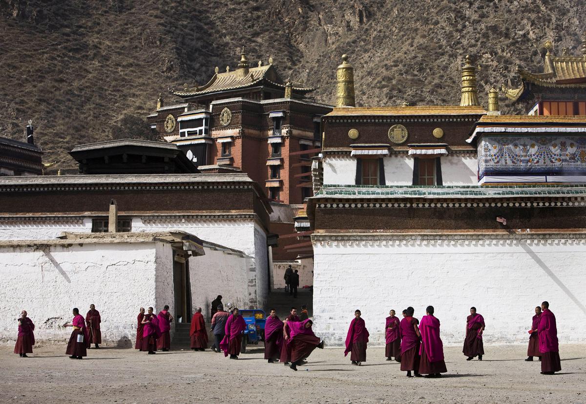 Peyzazhnye fotografii Gansu Kitay 28