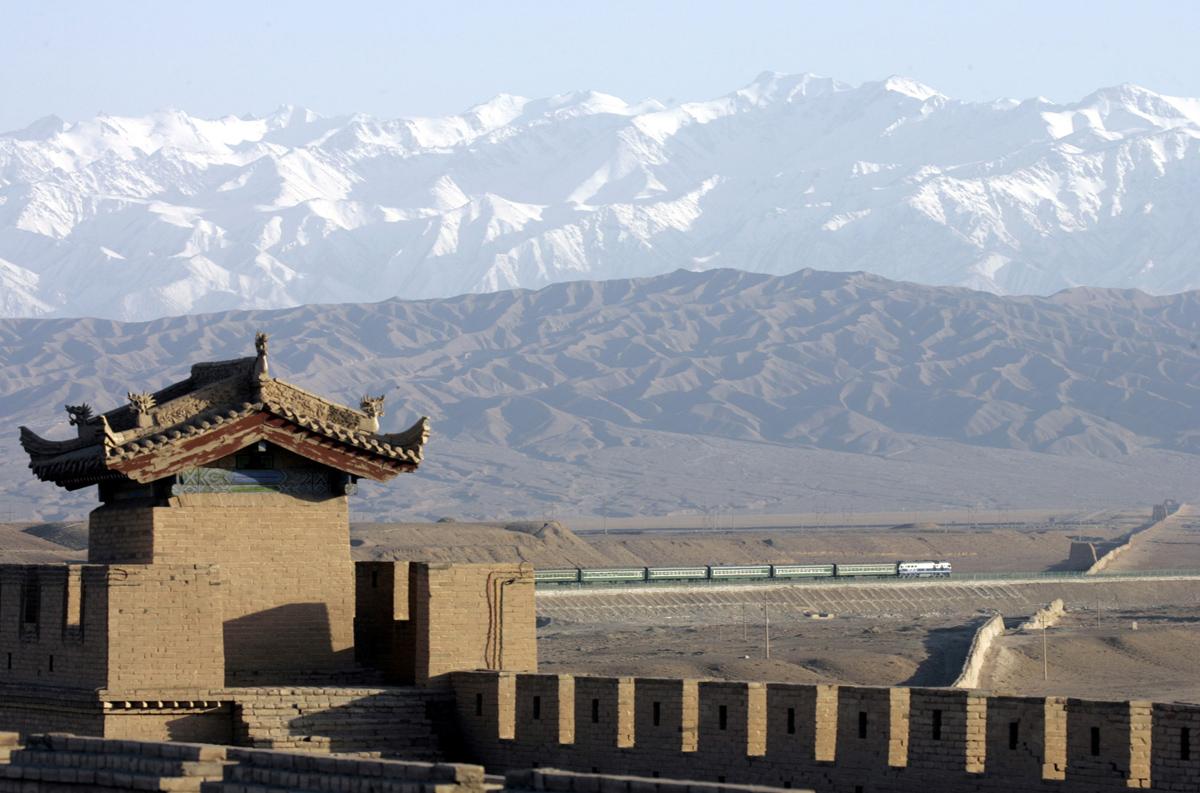 Peyzazhnye fotografii Gansu Kitay 7
