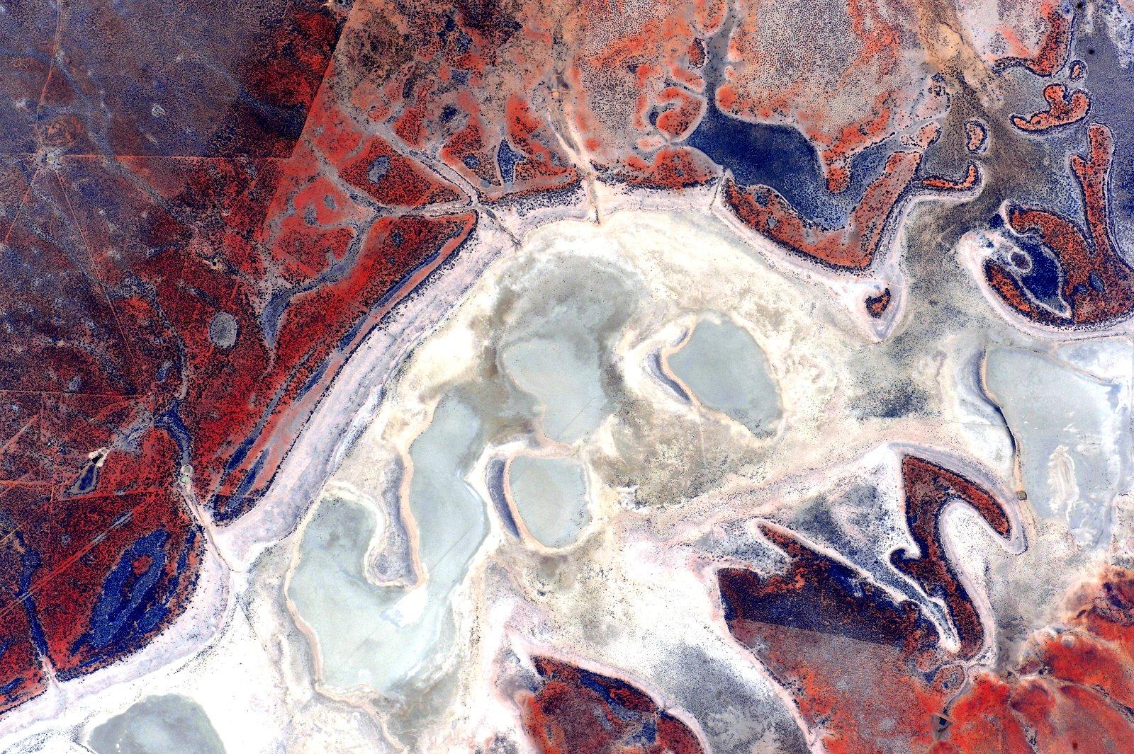 Фотографии Австралии из космоса 11