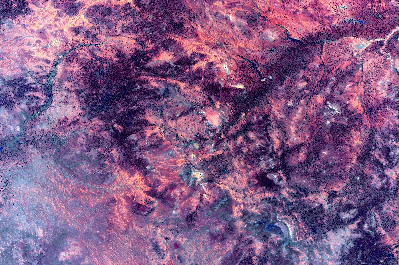 Фотографии Австралии из космоса 14