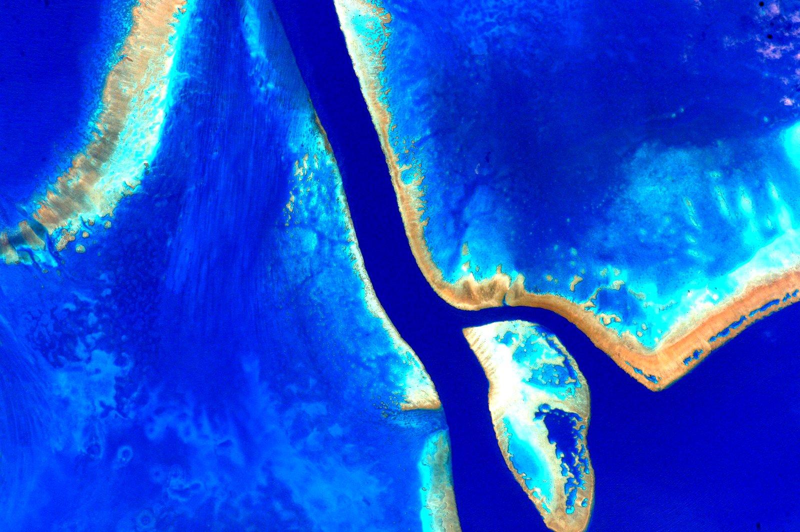 Фотографии Австралии из космоса 15