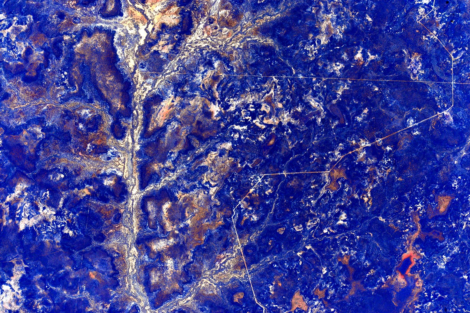 Фотографии Австралии из космоса 8