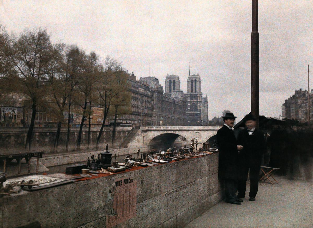 Avtohromnye fotografii Parizha 22