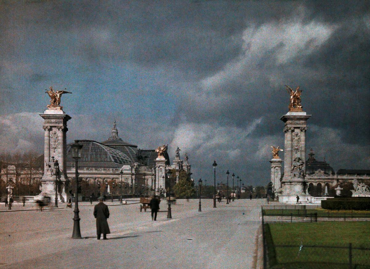 Avtohromnye fotografii Parizha 23
