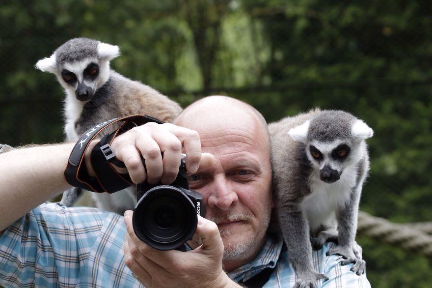 Забавные кадры работы фотографов дикой природы