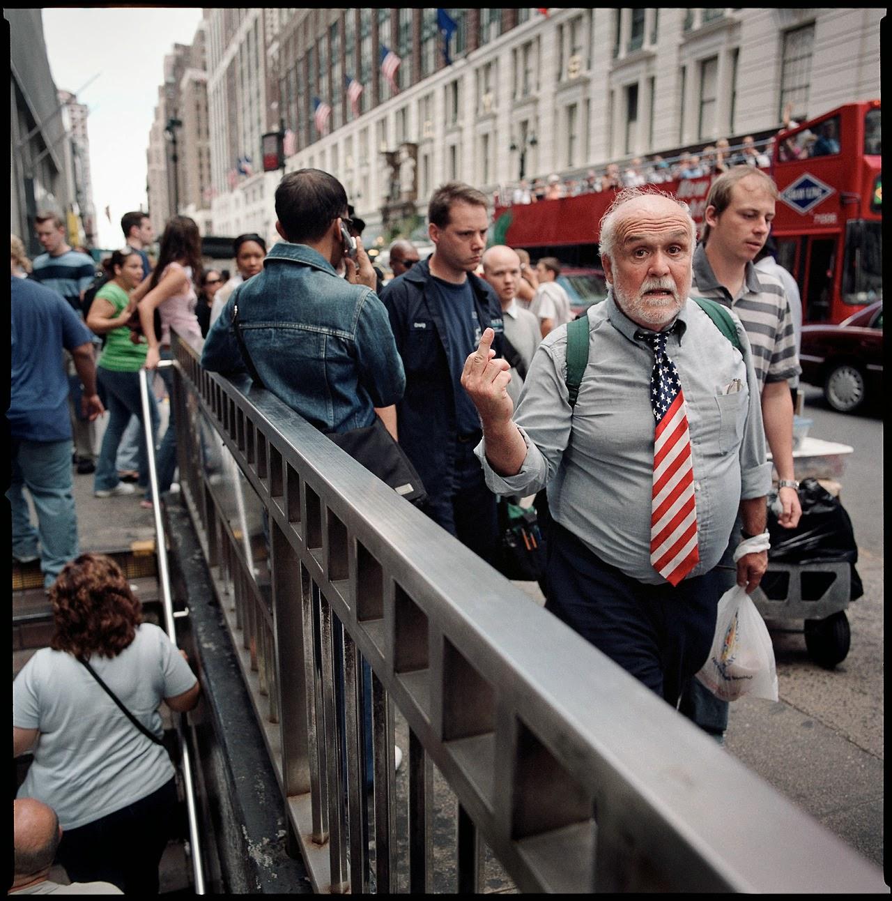 Цветные уличные портреты Майка Питерса