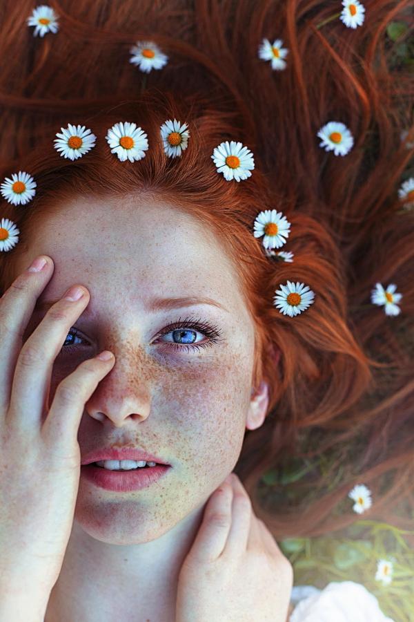 30 портретов, которые вызывают любовь к веснушкам