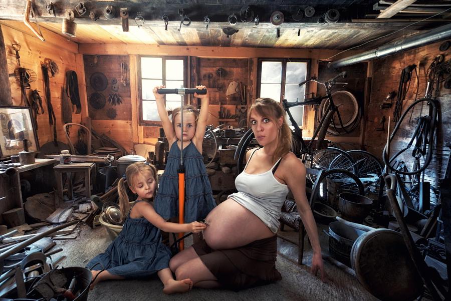7 креативных идей для фотосъёмки беременных женщин