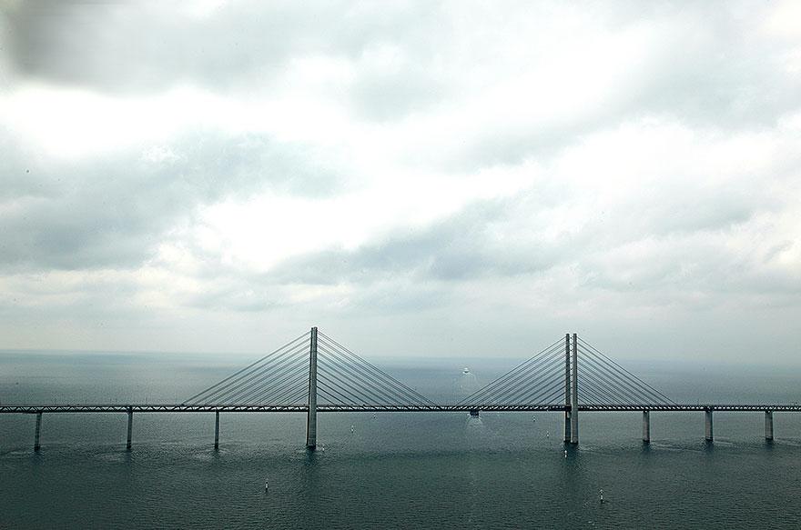 Колоссальный Эресуннский мост превращается в подводный тоннель, чтобы соединить Данию и Швецию-8