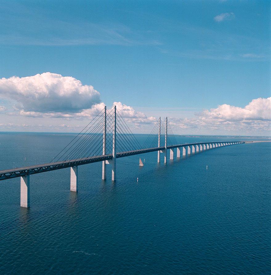 Колоссальный Эресуннский мост превращается в подводный тоннель, чтобы соединить Данию и Швецию-13
