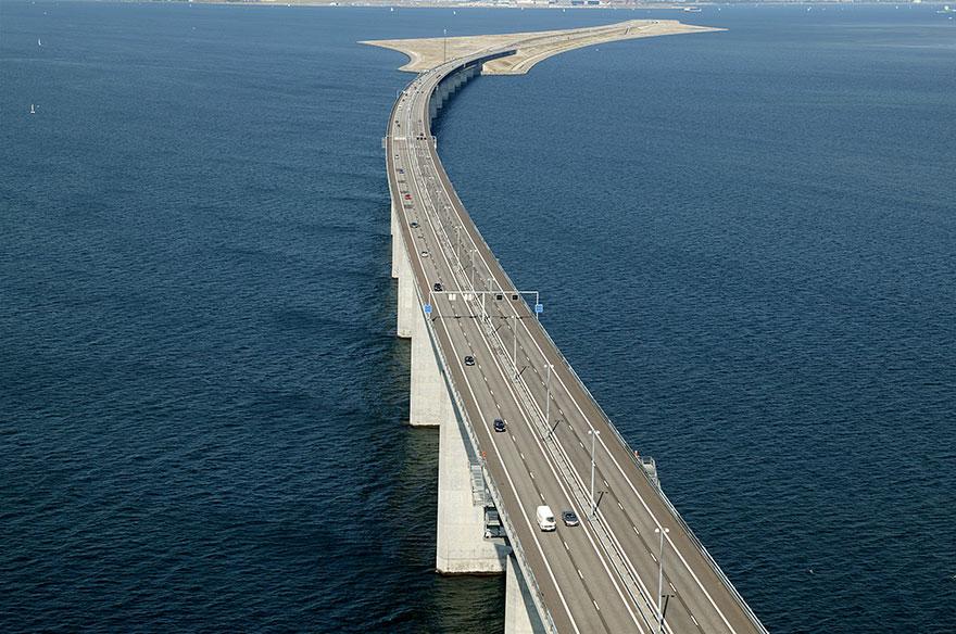 Колоссальный Эресуннский мост превращается в подводный тоннель, чтобы соединить Данию и Швецию-14