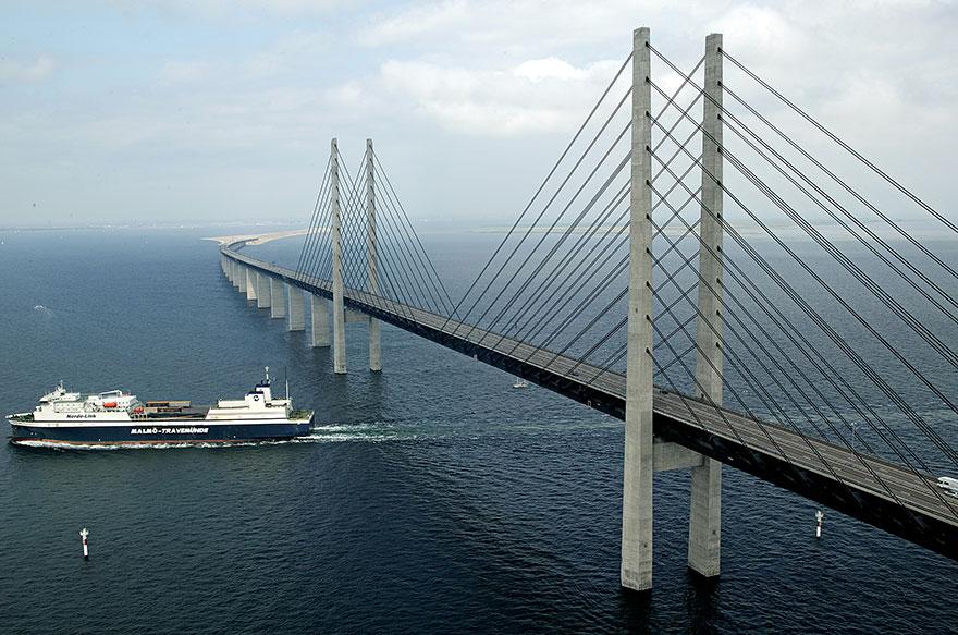 Колоссальный Эресуннский мост превращается в подводный тоннель, чтобы соединить Данию и Швецию-4