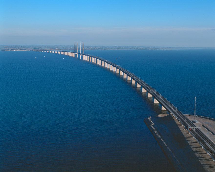 Колоссальный Эресуннский мост превращается в подводный тоннель, чтобы соединить Данию и Швецию-11