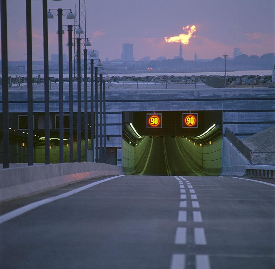 Колоссальный Эресуннский мост превращается в подводный тоннель, чтобы соединить Данию и Швецию-12