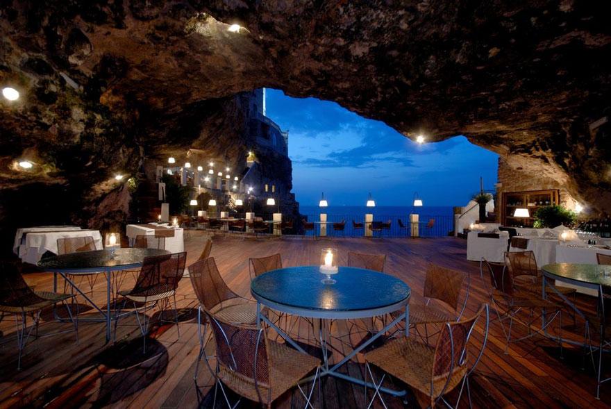 Гротта Палаццезе – один из самых живописных ресторанов Италии-27