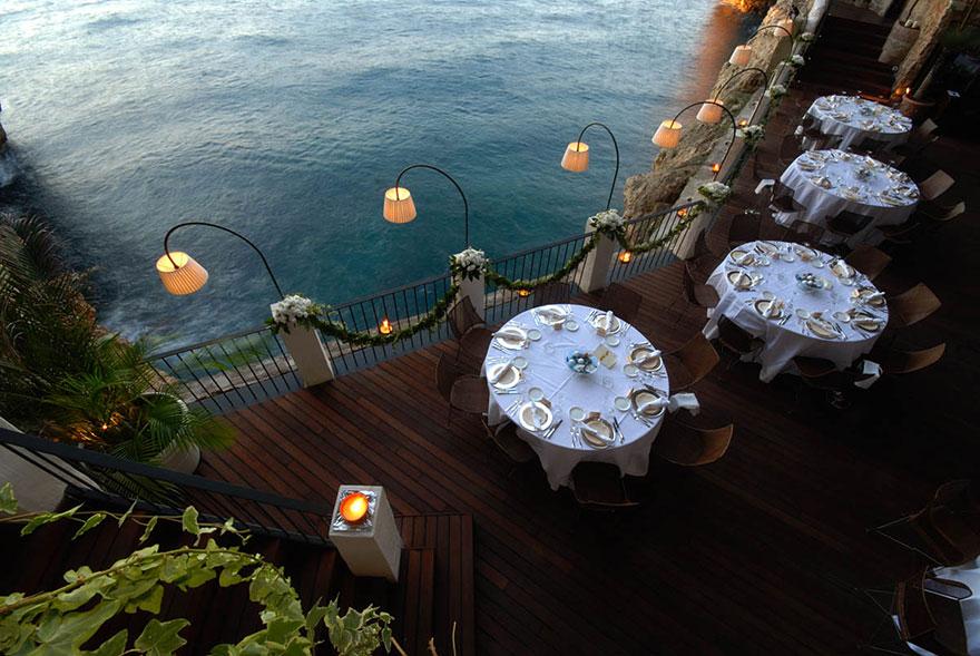 Гротта Палаццезе – один из самых живописных ресторанов Италии-9