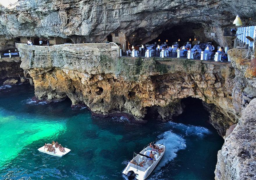 Гротта Палаццезе – один из самых живописных ресторанов Италии-8