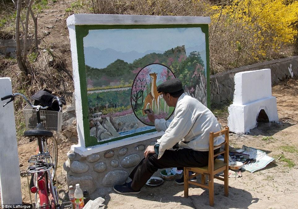 Severnaya Koreya fotograf Erik Lafforg 27