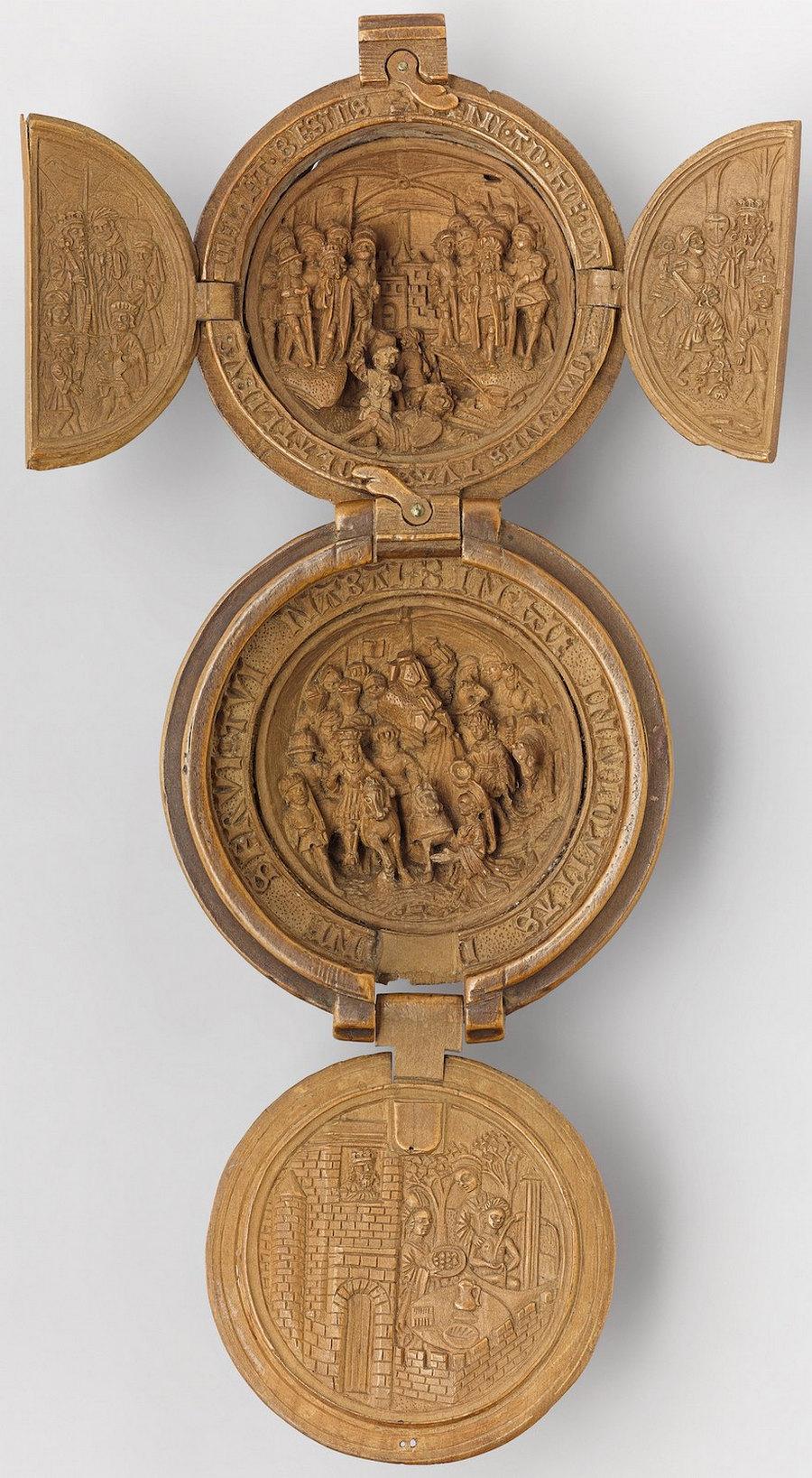 Что блоху подковать: самшитовые фигурки 16-го века 3