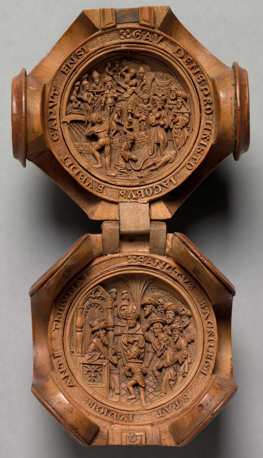 Что блоху подковать: самшитовые фигурки 16-го века 4