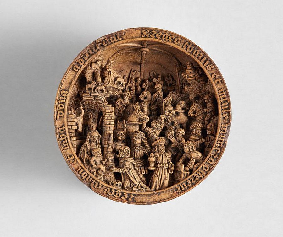 Что блоху подковать: самшитовые фигурки 16-го века 7