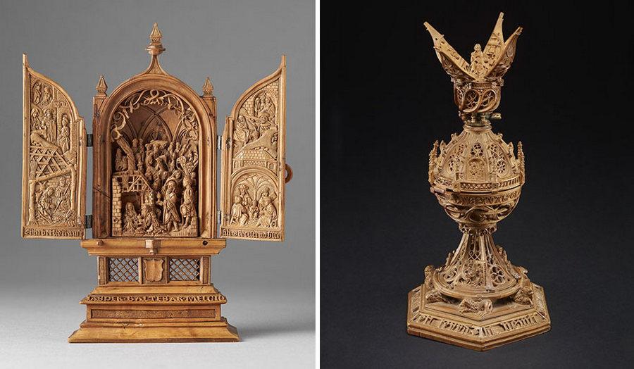 Что блоху подковать: самшитовые фигурки 16-го века 9