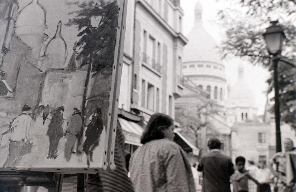 На экскурсию в Париж: столица Франции в объективе фотографа-любителя в 1955 году 47