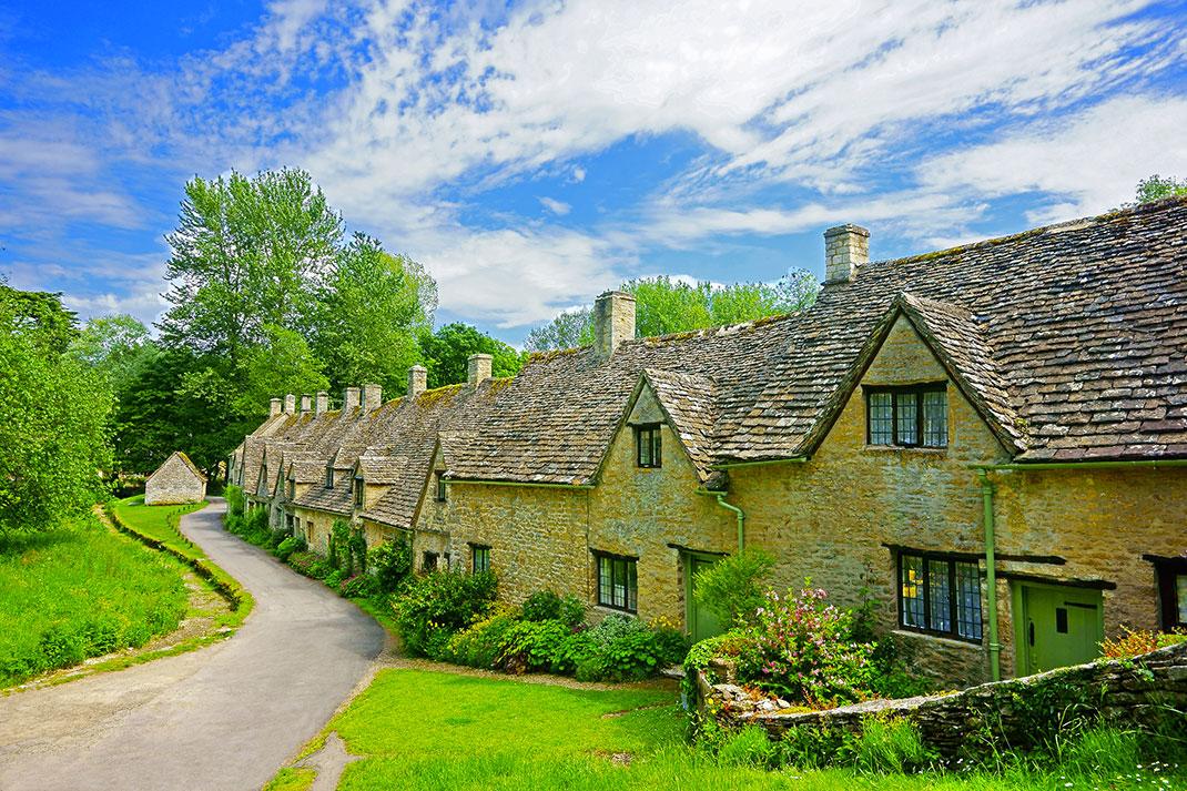 Байбери – самая красивая деревня в Англии 3