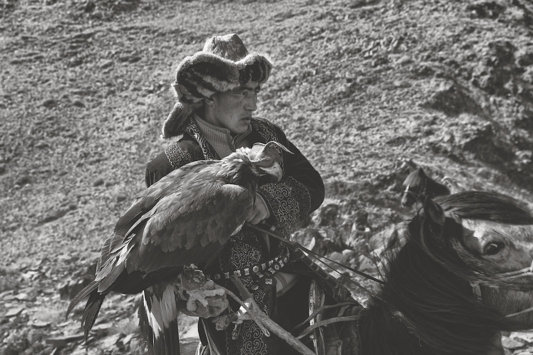 orlinye ohotniki Mongolii Foto Palani Mohan 5