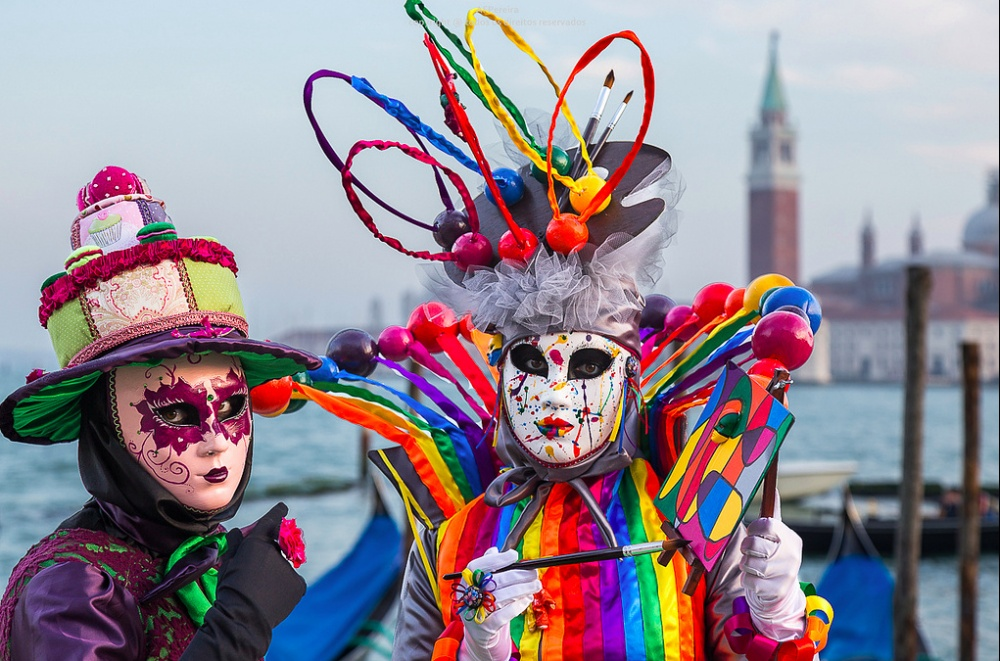 Venetsianskiy karnaval foto 3