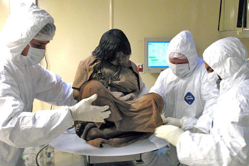 mumiya devochka iz plemeni inkov 1