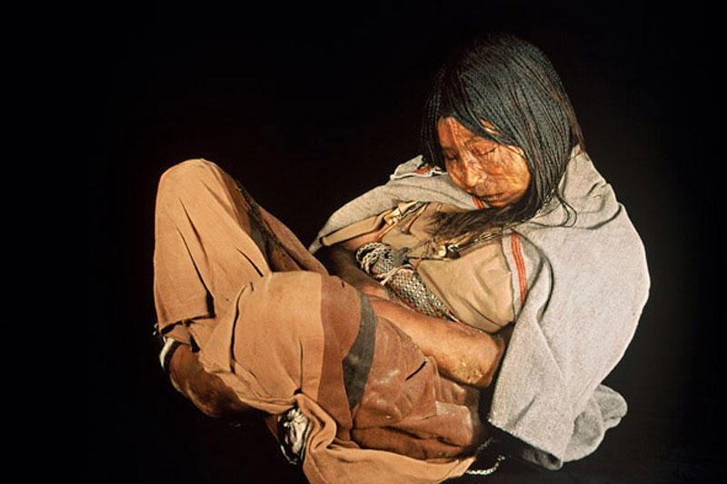 mumiya devochka iz plemeni inkov 7