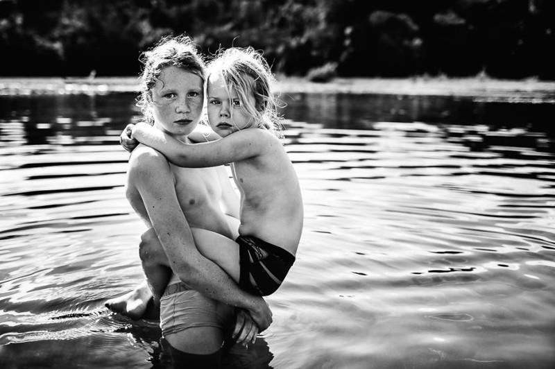 Luchshie fotografii konkursa B W Child 16