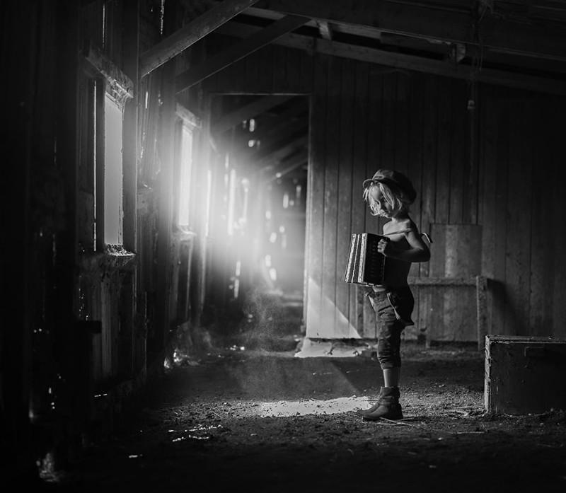 Luchshie fotografii konkursa B W Child 5