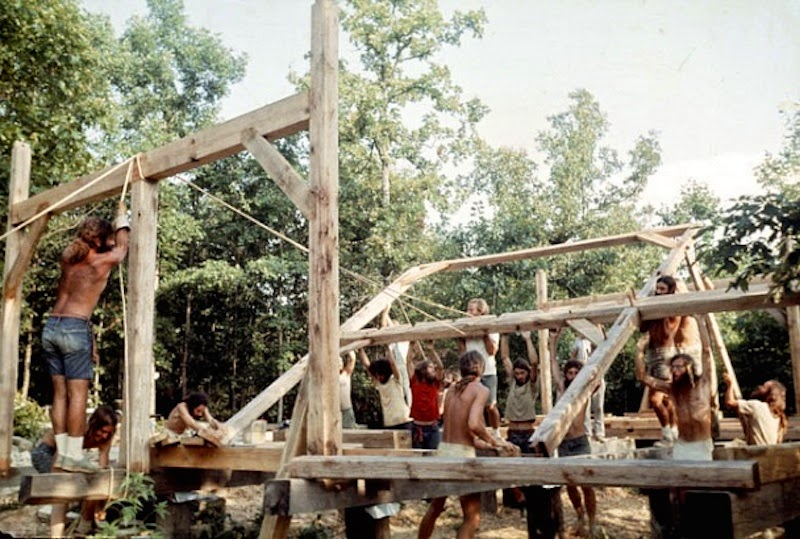 fotografii obschiny amerikanskih hippi 11