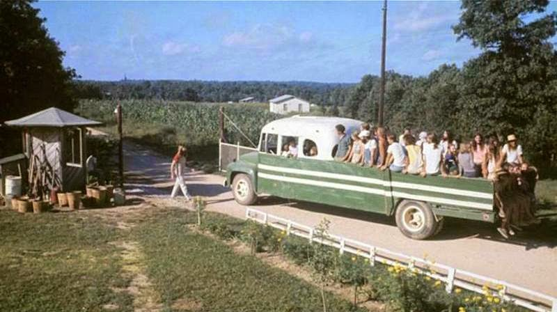fotografii obschiny amerikanskih hippi 2